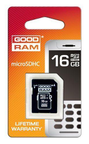 Karta pamięci MicroSD 16gb GOODRAM