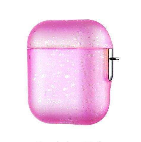 Kingxbar Nebula Airpods Case etui na słuchawki AirPods 2 / AirPods 1 różowy