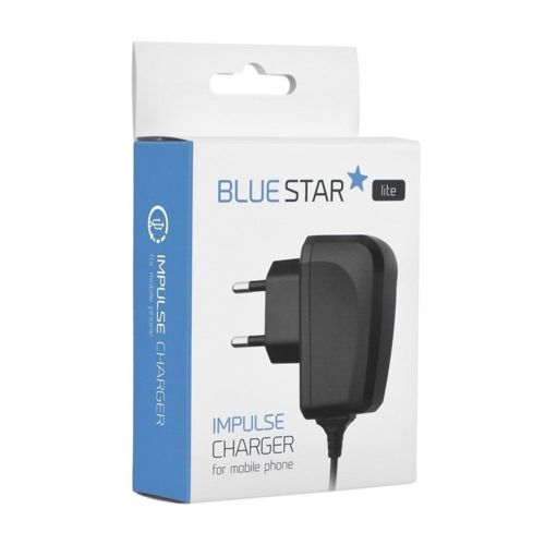 Ładowarka sieciowa IPHONE LIGHTNING + KABEL USB Blue Star Lite