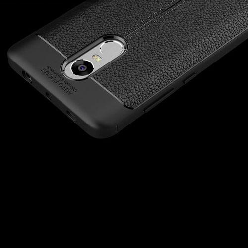 Litchi Pattern elastyczne etui pokrowiec Xiaomi Redmi Note 4X / 4 (Snapdragon global version) niebieski