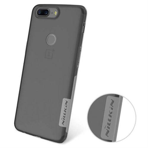 Nillkin Nature żelowe etui pokrowiec ultra slim OnePlus 5T szary