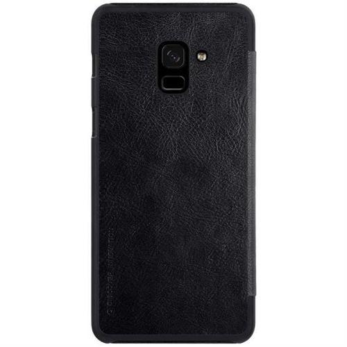 Nillkin Qin skórzana kabura etui Samsung Galaxy A8 2018 A530 czarny