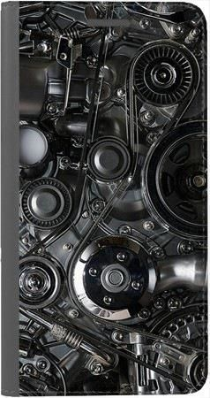 Portfel DUX DUCIS Skin PRO czarna mechanika na Huawei Honor 10