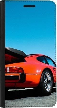 Portfel DUX DUCIS Skin PRO czerwony samochód na Samsung Galaxy A70