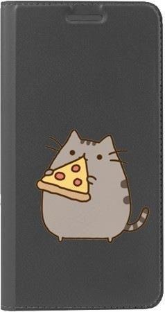 Portfel DUX DUCIS Skin PRO koteł z pizzą na Huawei Honor 9 Lite