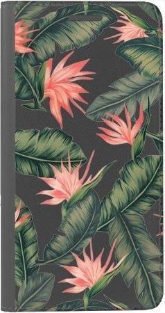 Portfel DUX DUCIS Skin PRO liście z kwiatami na Xiaomi Redmi Note 5a