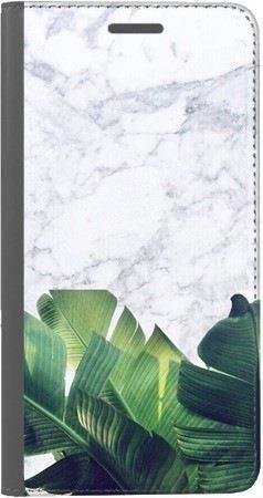 Portfel DUX DUCIS Skin PRO marmurowe liście na Huawei Honor 10