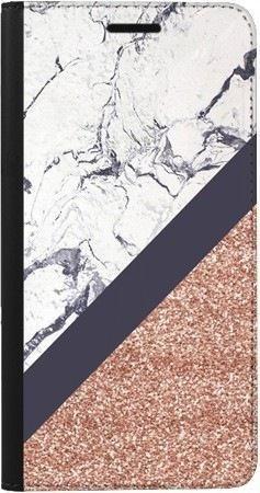 Portfel DUX DUCIS Skin PRO marmurowy brokat na Samsung Galaxy A70