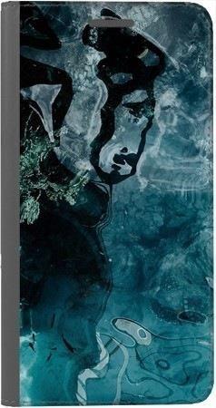 Portfel DUX DUCIS Skin PRO turkusowa woda na Huawei Honor 7x