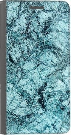 Portfel DUX DUCIS Skin PRO turkusowy marmur na Huawei Honor 10