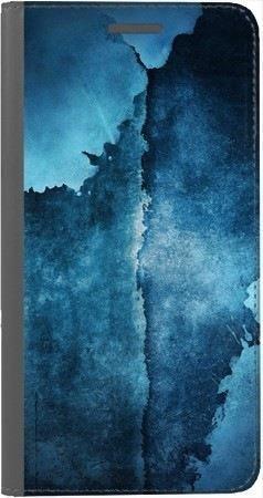 Portfel DUX DUCIS Skin PRO turkusowy ślad na Huawei Honor 7x