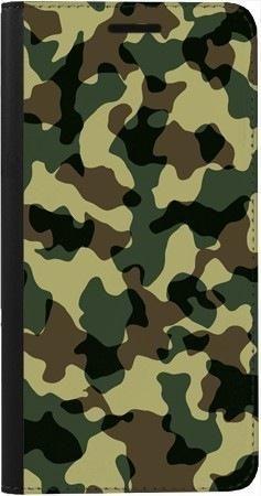 Portfel DUX DUCIS Skin PRO zielone moro na Samsung Galaxy A70