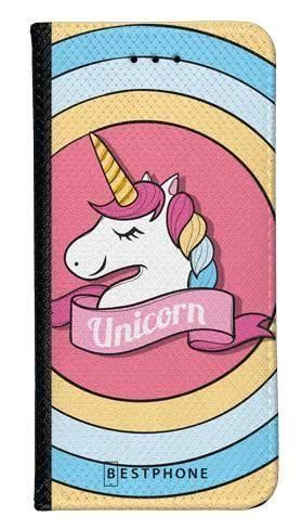 Portfel Wallet Case LG G8 ThinQ unicorn