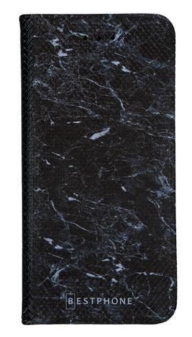 Portfel Wallet Case LG K40 czarny marmur