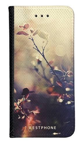 Portfel Wallet Case LG K40 kwiatki w słońcu