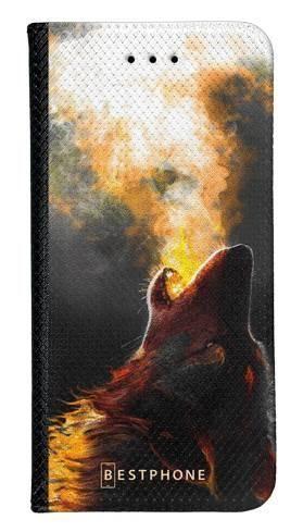 Portfel Wallet Case LG K40 mroczny jeleń