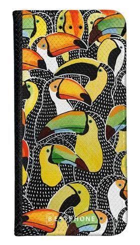 Portfel Wallet Case LG K40 tukany