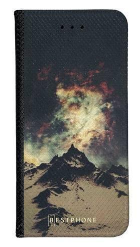 Portfel Wallet Case LG K40 zorza nad górami