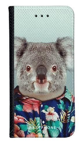 Portfel Wallet Case Samsung Galaxy A20e koala w koszuli