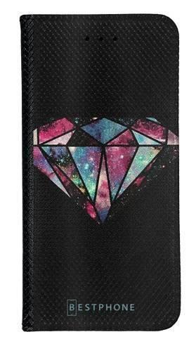Portfel Wallet Case Samsung Galaxy A20e kolorowy diament