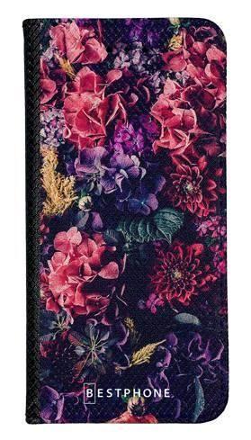 Portfel Wallet Case Samsung Galaxy A20e kompozycja kwiatowa