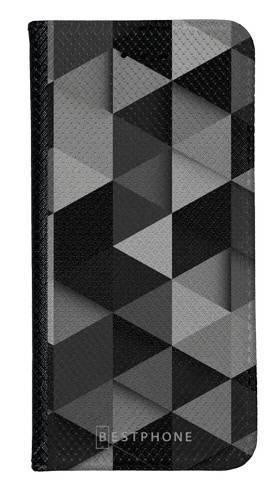 Portfel Wallet Case Samsung Galaxy A5 czarne trójkąty