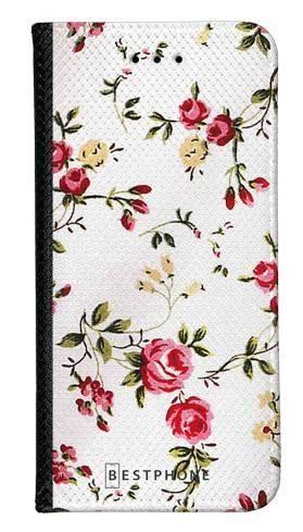 Portfel Wallet Case Samsung Galaxy A5 haftowane kwiatki