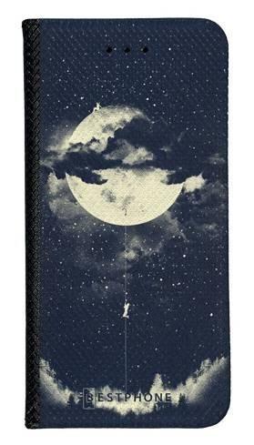 Portfel Wallet Case Samsung Galaxy A5 księżyc