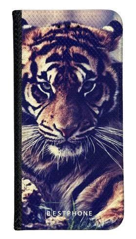 Portfel Wallet Case Samsung Galaxy A5 mroczny tygrys