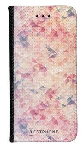 Portfel Wallet Case Samsung Galaxy A5 różowe trójkąciki