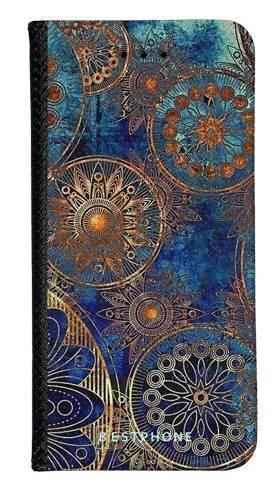 Portfel Wallet Case Samsung Galaxy A60 azteckie kształty