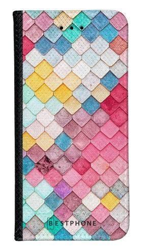 Portfel Wallet Case Samsung Galaxy A60 kolorowe płytki