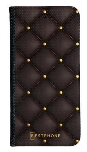 Portfel Wallet Case Samsung Galaxy A60 pikowana skóra