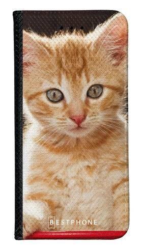 Portfel Wallet Case Samsung Galaxy A60 rudy kot