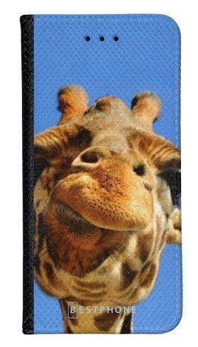 Portfel Wallet Case Samsung Galaxy A60 śmieszka żyrafa