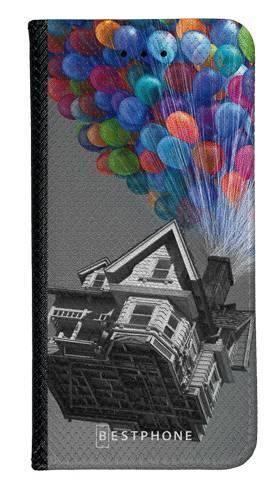 Portfel Wallet Case Samsung Galaxy Core Prime dom balony
