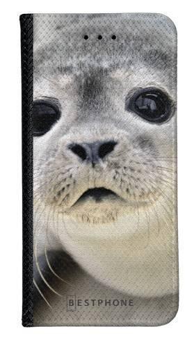 Portfel Wallet Case Samsung Galaxy Core Prime foczka
