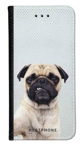 Portfel Wallet Case Samsung Galaxy Core Prime grumpy mops