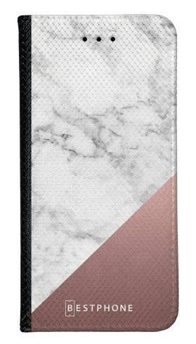 Portfel Wallet Case Samsung Galaxy Core Prime marmur z miedzią