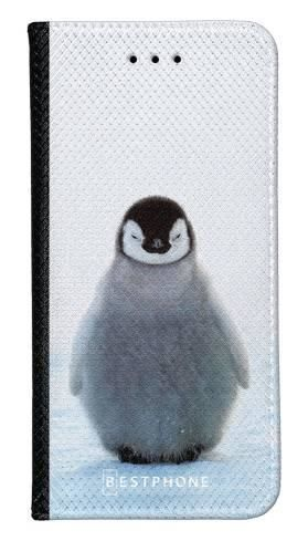 Portfel Wallet Case Samsung Galaxy Core Prime pingwinek