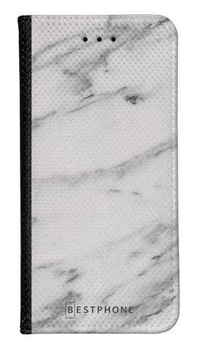 Portfel Wallet Case Samsung Galaxy Core Prime szary marmur