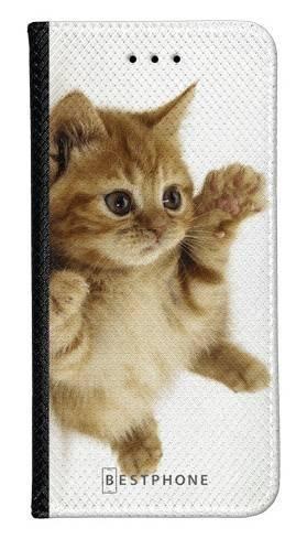 Portfel Wallet Case Samsung Galaxy Note 10 Pro kociak