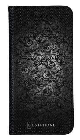 Portfel Wallet Case Samsung Galaxy Note 10 czarne wzorki