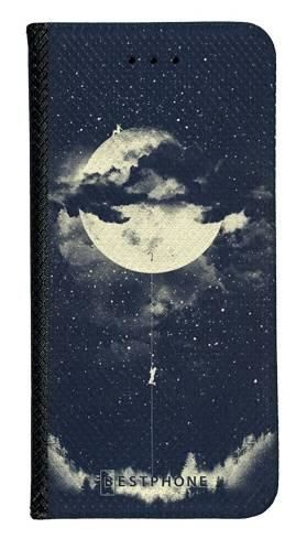 Portfel Wallet Case Samsung Galaxy Note 10 księżyc