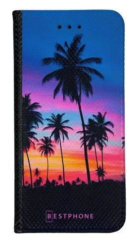 Portfel Wallet Case Samsung Galaxy Note 10 wieczorne palmy