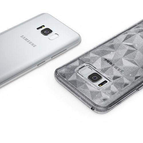 Ringke Air Prism Glitter błyszczące żelowe etui pokrowiec 3D Samsung Galaxy S8 G950 przezroczysty (APSG0009-RPKG)