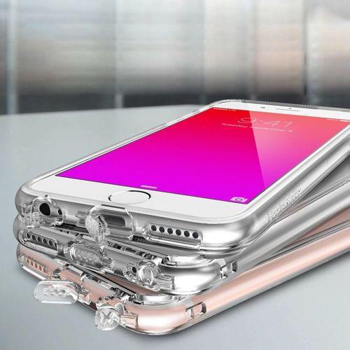 Ringke Fusion etui pokrowiec z żelową ramką iPhone 6S / 6 różowy (RFAP026-RPKG)