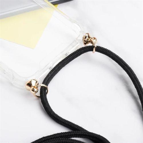 Rope case żelowe etui ze smyczą torebka smycz iPhone XS / iPhone X przezroczysty