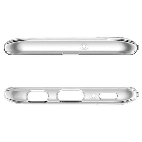SPIGEN LIQUID CRYSTAL GALAXY A40 CRYSTAL CLEAR +szkło 5D