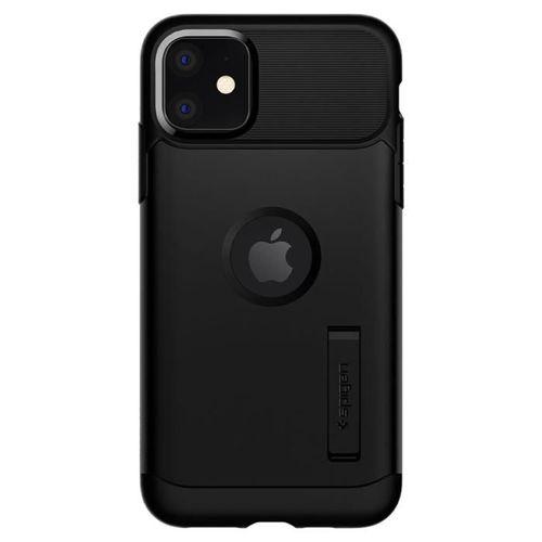 SPIGEN SLIM ARMOR IPHONE 11 BLACK+ Folia 3MK FG
